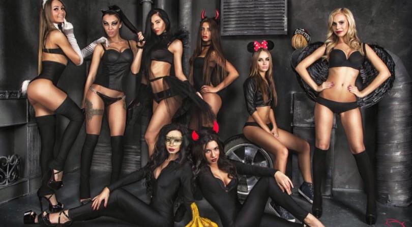 Happy Halloween Con Le Russian Grid Girls