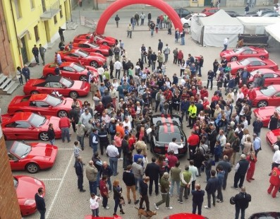III° Ferrari Meeting In Castelnuovo Belbo