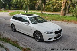 Tested: BMW M550d Touring