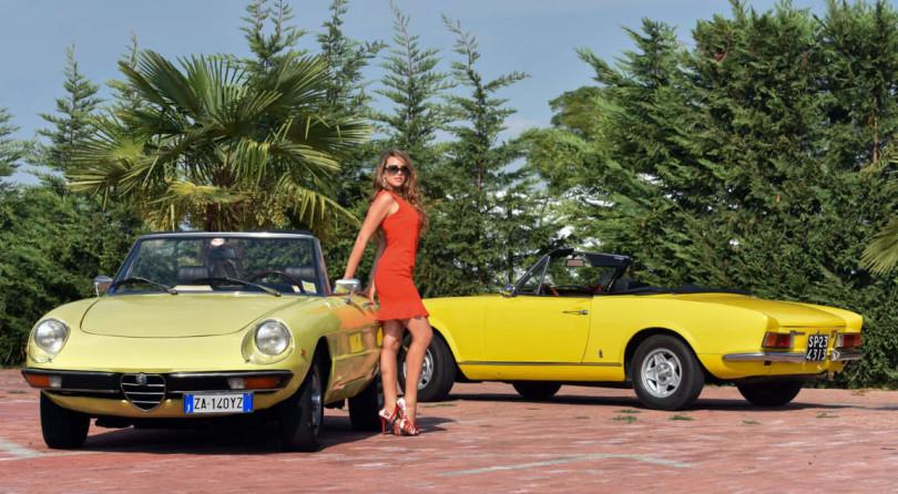Un'estate italiana: Alfa Romeo Duetto e Fiat 124 Spider a Confronto