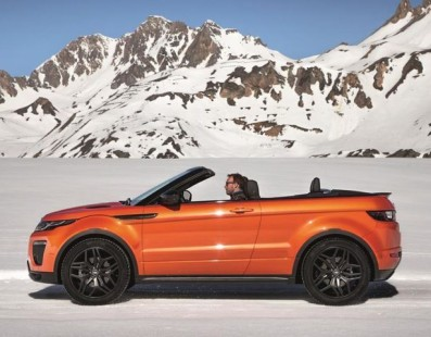 Get Ready For Winter … With The Evoque Convertible