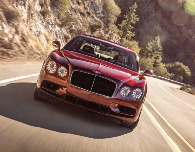 The New Flying Spur V8S Has No Rivals
