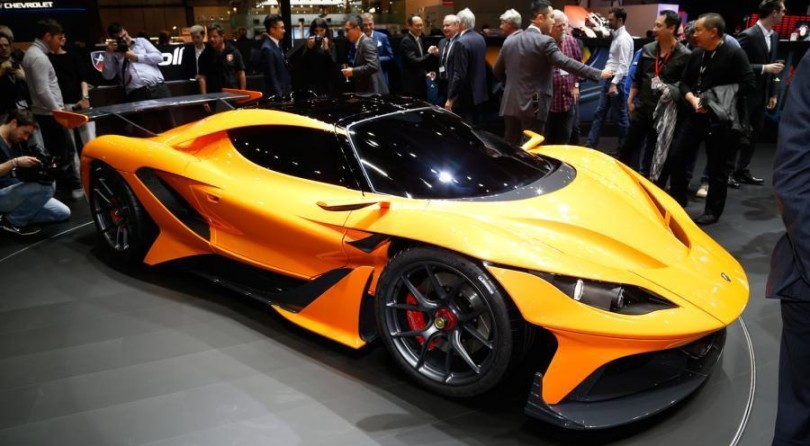 Gumpert Lives Again with the Apollo Automobil and its new Arrow Hypercar