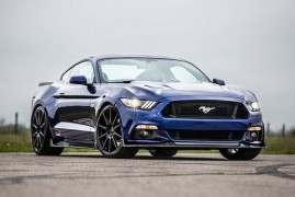 Hennessey Sharpens the new Mustang