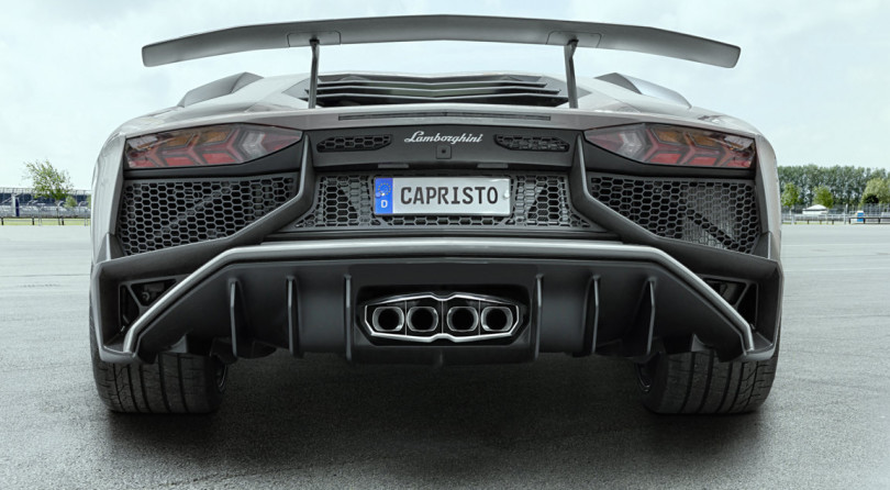 The Aventador SV by Capristo Doesn't Know Any Limits
