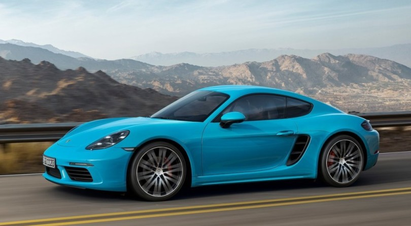 Porsche 718 Cayman Goes Turbocharged!