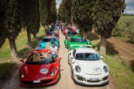 The Cars and Coffee Rally: Hypercars Al Via
