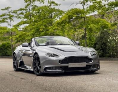 """Questa Aston Martin Vantage GT12 Roadster E' La Creazione Più Folle Di """"Q"""""""