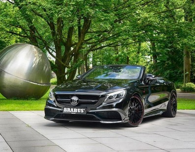 The Brabus 850 Brings The S-Class Cabrio To A Whole New Level