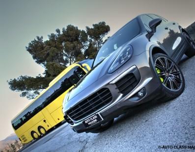 Porsche Cayenne S e-Hybrid: Hybrid Shocks