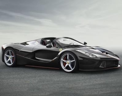 It's Here: It's The Ferrari LaFerrari Spider