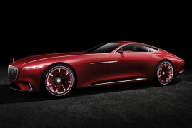 Luxury Coupe's Top Of The Food Chain: All Hail The Vision Mercedes-Maybach 6