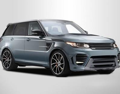 Overfinch Range Rover SVR SuperSport: Il Lusso Viaggia Veloce