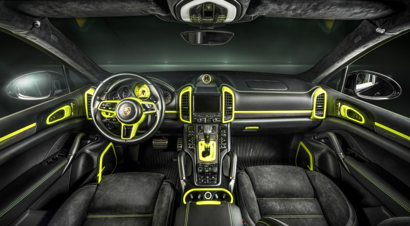 Fluo Code and Your Cayenne Will Be One of a Kind