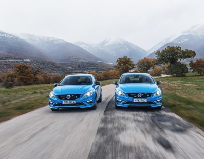 Polestar Volvo V60 – S60: Blue Is The New Black