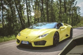 Lamborghini Huracan LP580-2 Spyder: Prendila Per Le Corna!