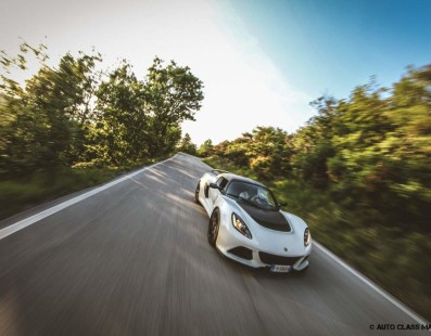 Performance Tour: One More Time on the Turini with the Lotus Exige Sport 350