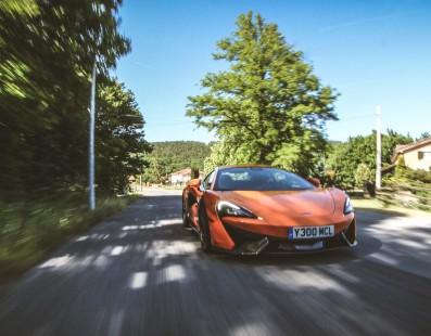McLaren 570S: Divina