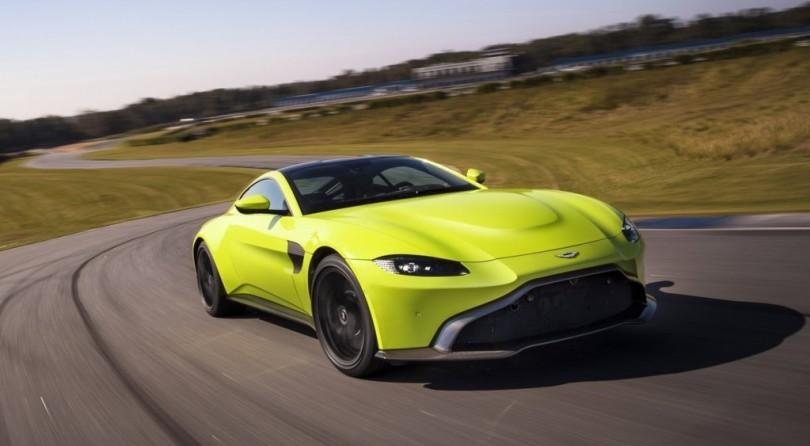 Aston Martin Vantage: Dynasty's Safe