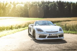 Techart 400-HP 718 Boxster S Tested To The Limit