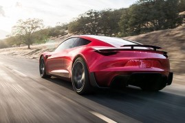 Tesla: Ludicrously Fast Roadster Revealed