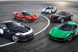 Ferrari Festeggia I 70 Anni Con 70 Livree Speciali: Eccole Tutte !