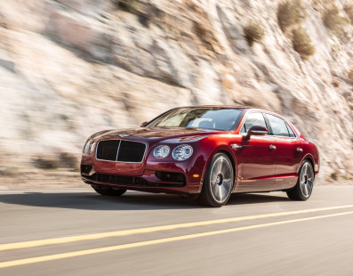 Bentley Flying Spur V8S: The Sporting Side of Luxury