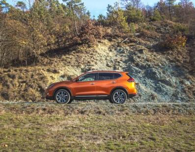 Nissan X-Trail: Hidden Paths