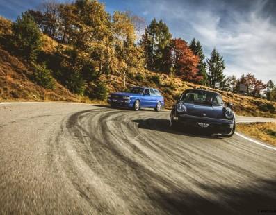 Audi-Porsche RS2 Avant and Porsche 911 Turbo: Rebels