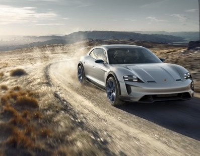 Porsche Keeps Looking At An Electric Future With The New Mission E Cross Turismo
