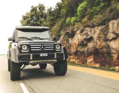 Mercedes G500 4X4² – Roads? We Don't Need Roads