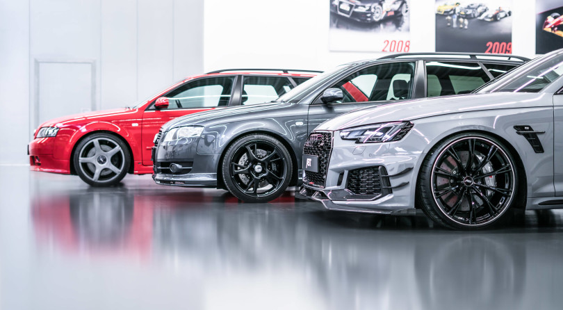 ABT RS4: Three Special Recipes Face to Face