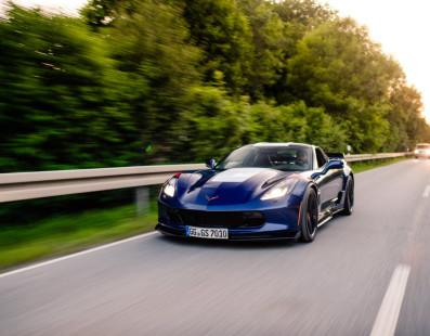 Corvette C7 Grand Sport: Show-Off