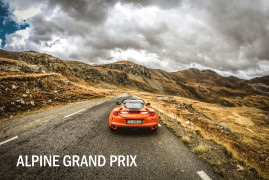 Alpine Grand Prix II – Attacking The Very Best Driving Roads in Europe