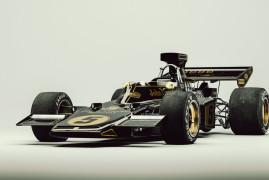 Black & Gold: Lotus 72 F1