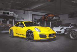 Techart 911 T: Lighter but Faster