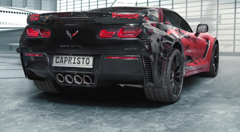 Capristo Gives An Extra Testosterone Dose To The Corvette C7 Z06