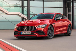 Mercedes AMG GT43 Four-Door Coupe: New 367HP Entry Level