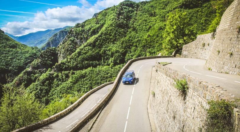 Subaru WRX STI on the Col de Turini: Free Climber