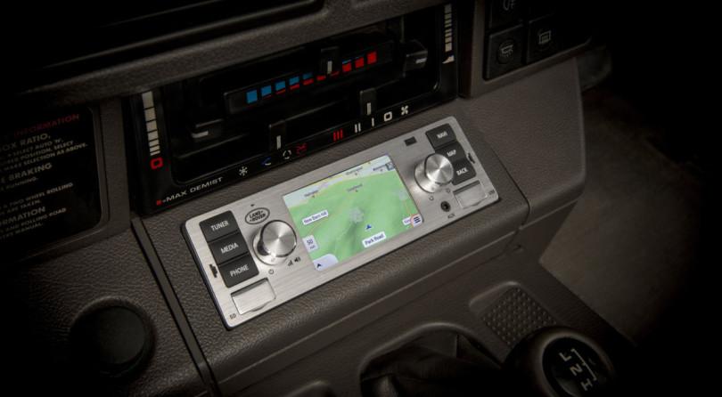 Adesso La Vostra Jaguar/Land Rover d'Epoca Potrà Montare Un Infotainment Moderno