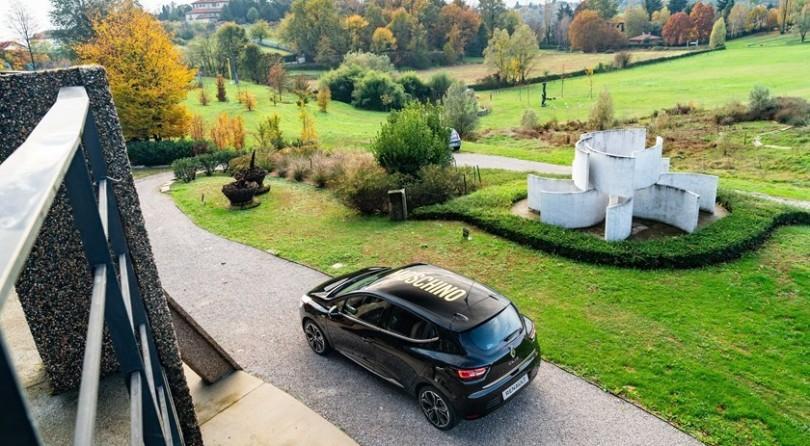 Glamorous Renault Clio Wears Moschino