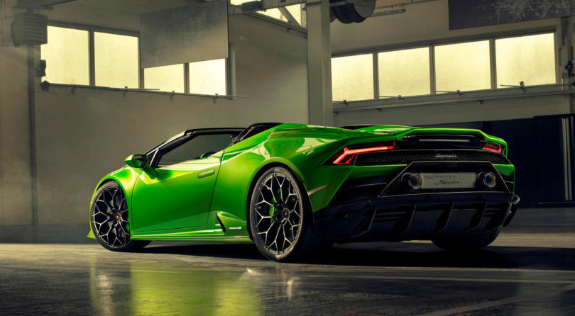 Lamborghini Huracan Evo Spyder: Louder, But As Fast As The Coupe!