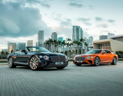 Bentley Continental GT and GTC. Here Comes The V8
