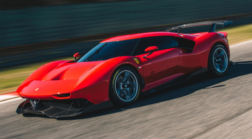 We Have Another Ultimate Ferrari. Behold The P80/C