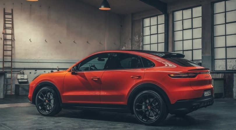 Porsche Cayenne Coupe: A Bit Late, But With Arrogance