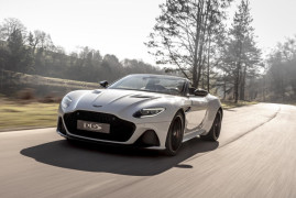 Aston Martin DBS Superleggera Volante: Topless Beauty Comes From Gaydon Still Packing 715 hp