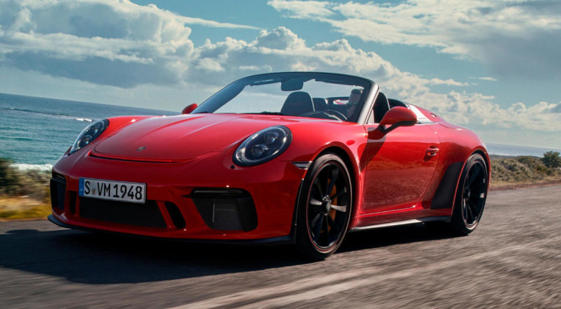 Porsche 911 Speedster: The Exclamation Point Over Porsche's 70 Years