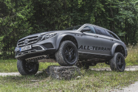 Mercedes-Benz E-Class All-Terrain 4×4²: Off-Road Pioneer