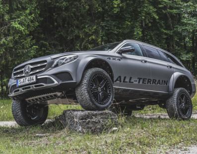 Mercedes-Benz E-Class All-Terrain 4×4²: Off-Road Pioneer