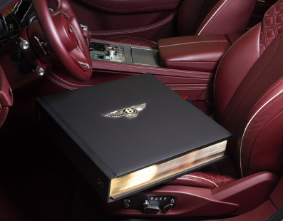 Bentley's Books: As Luxurious As 30kg Each And Up To £200,000 Per Copy. Handle With Care.